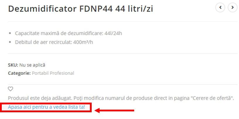 FRAL Romania Acces cerere de oferta