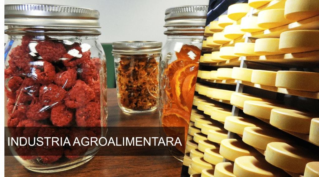 Dezumidificator FRAL Industria Agroalimentara
