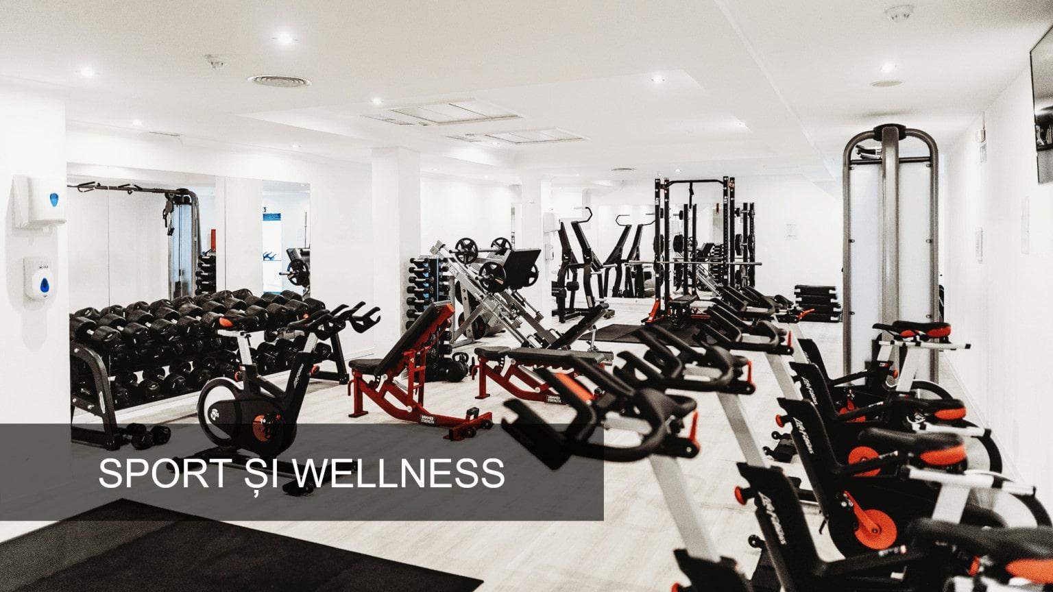 Dezumidificator FRAL Sala de Sport Wellness